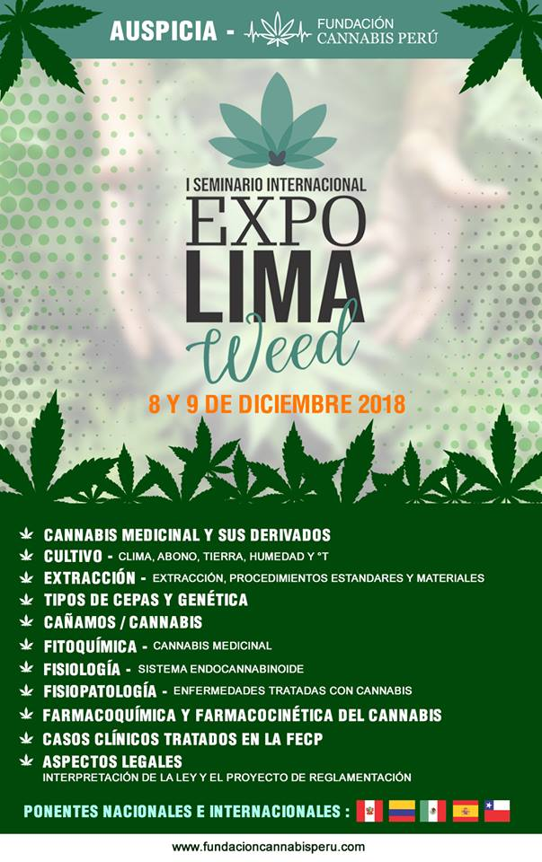 seminario aceite cannabis lima peru